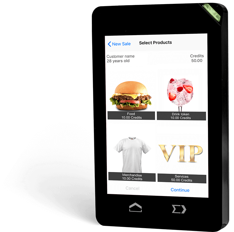 Use Android devices as readers with our RFID event solutions