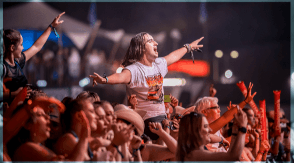 Example of music festival
